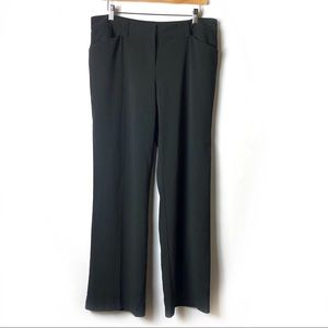 METRO 7 Black Work Slacks Career Wear Pants
